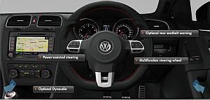 Golf GTI R interior